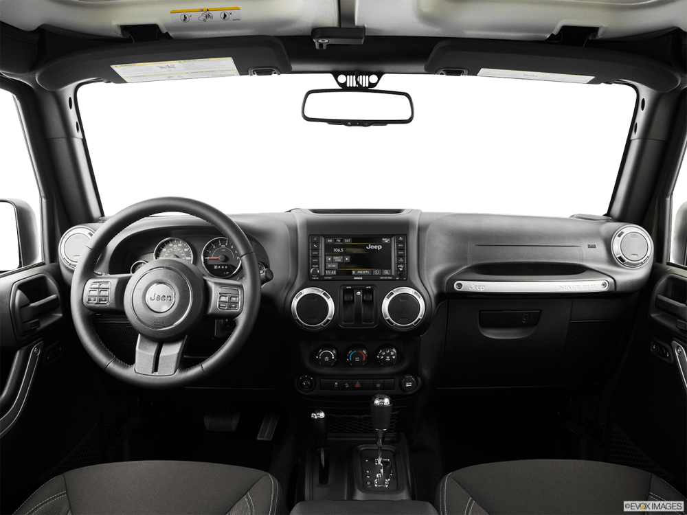 medium resolution of interior view of 2016 jeep wrangler in athens
