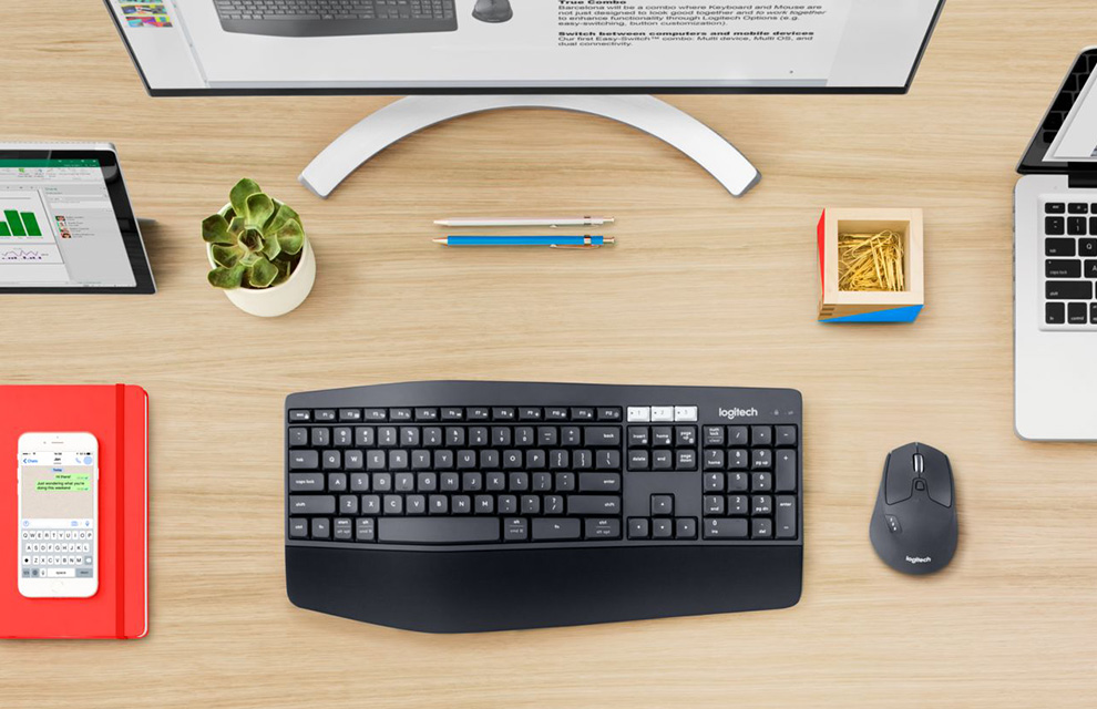 Combo Teclado e Mouse MK850