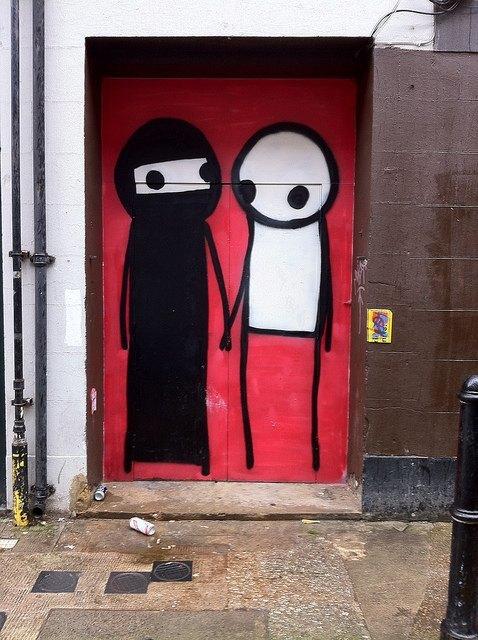 London Street Art Guide 1 Stik  Londonist