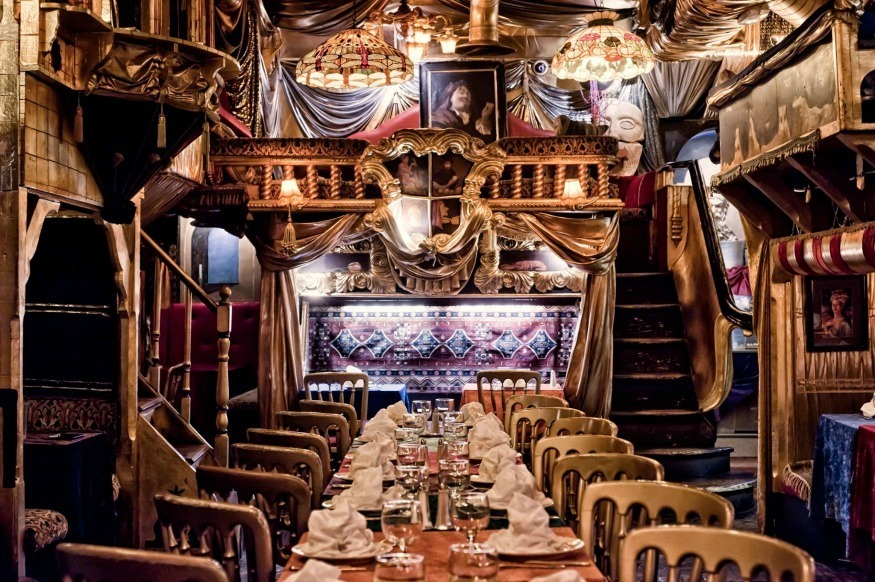 best hunting chair blind ikea table chairs london's themed restaurants   londonist