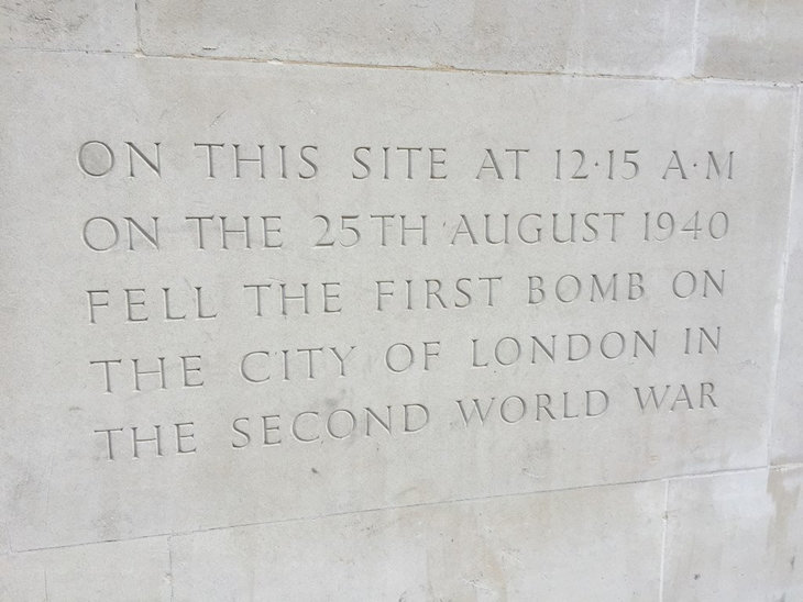 Where Did The First Bomb Of The Second World War Strike