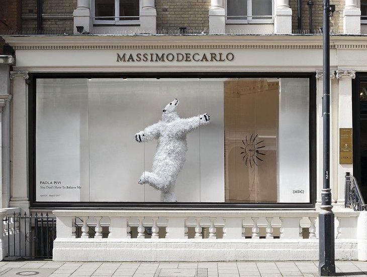 See A Polar Bear Dancing In A Shop Window  Londonist