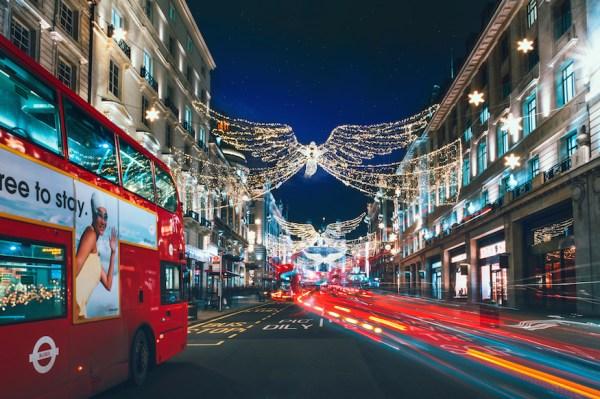 christmas lights london 2019 # 1