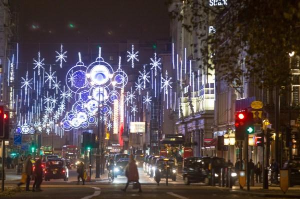 christmas lights london # 14