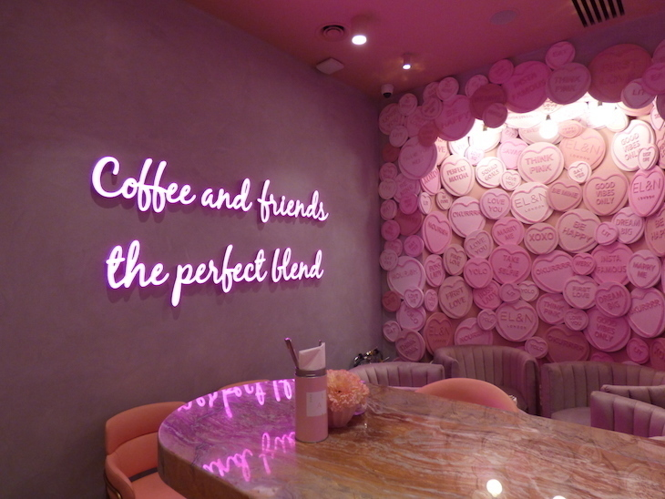 Cute Christmas Wallpaper Rose Gold 13 Of The Pinkest Cafes And Restaurants In London Londonist