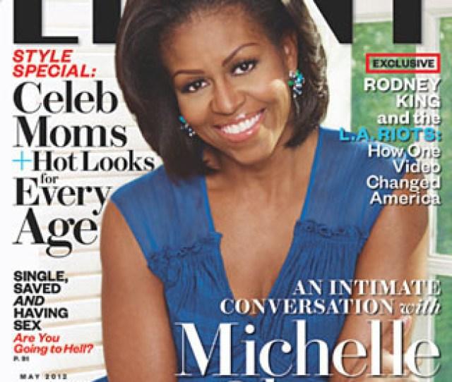 Marc Baptiste Photographs Michelle Obama For Ebony Magazine