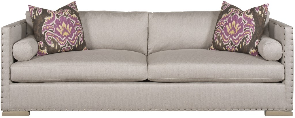 living es sofa nordvalla dark grey cover thom filicia home collection vangard furniture sofas settees oakwood extended 9029
