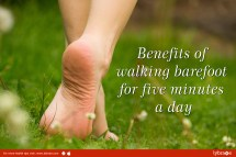 Benefits Of Walking Barefoot Five Minutes Day