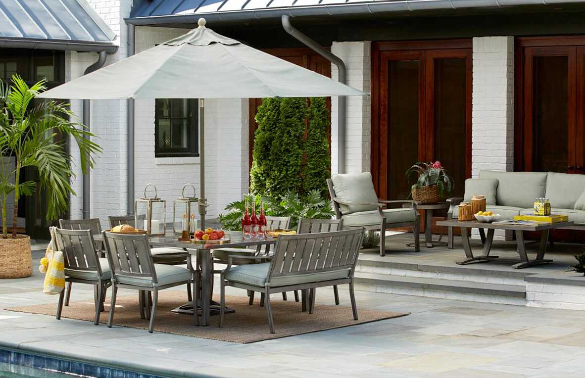 backyard patio furniture ideas