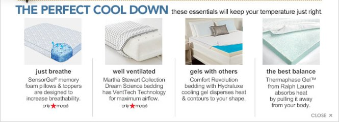 A Memory Foam Pad Or Topper Brings Supreme Comfort And Protection The Perfect Cool Down These Essentials Will Keep Your Temperature Just Right