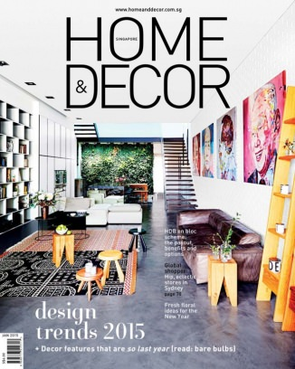 Home  Decor Singapore Magazine January 2015 issue  Get