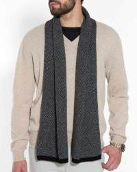 Men's Cashmere Puppytooth Scarf | MaisonCashmere