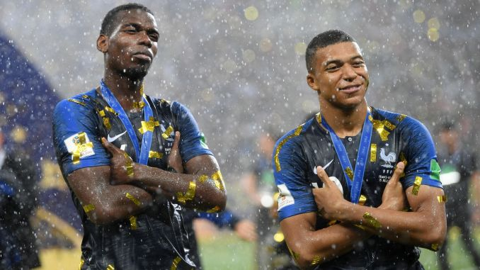 Profile of France golden boys Paul Pogba and Kylian Mbappe ahead of Man  United PSG match | Manchester United