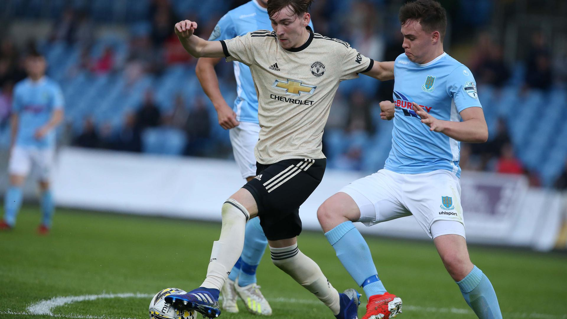 · select the match you want to attend and click 'view tickets'. Ballymena v Man Utd Under-23s match report   Manchester United