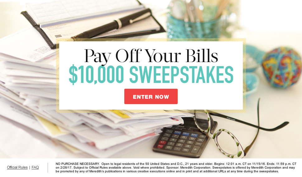 Martha Stewart Weddings Daily Sweepstakes