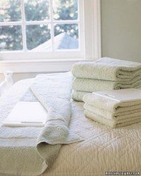 Perfect Towel Folding | Martha Stewart