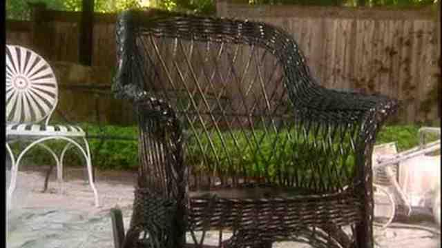 video: painting outdoor furniture: wicker | martha stewart