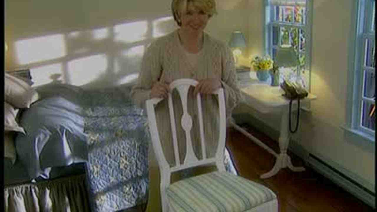 how much fabric to cover a chair cushion childrens table and chairs new zealand video recover seat martha stewart