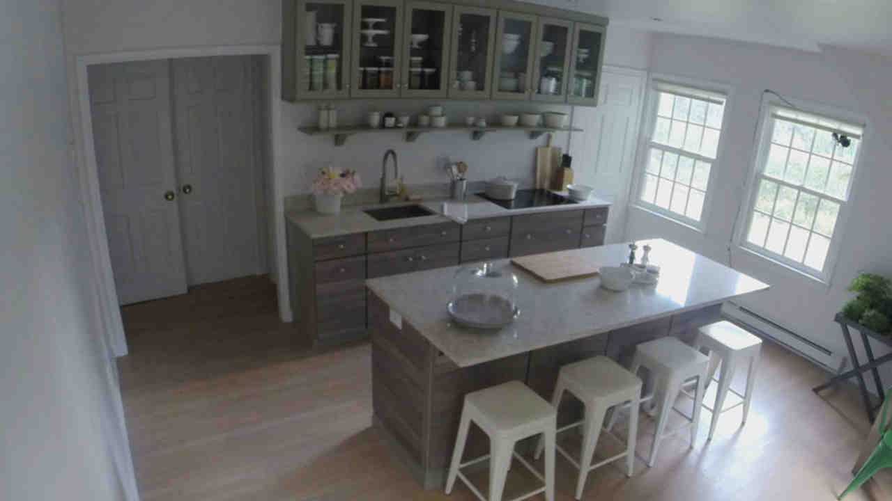 home depot kitchen remodeling rta cabinets video time lapse martha s maple avenue remodel stewart