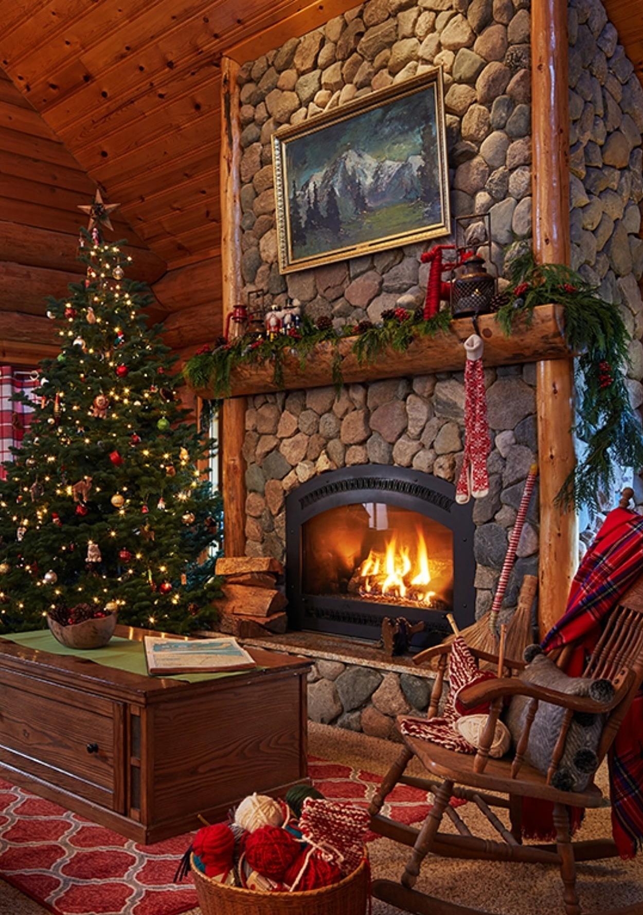 Take a FirstEver Peek Inside Santas North Pole Home  Martha Stewart