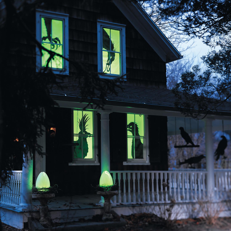 Spooky Bird Silhouettes  Martha Stewart