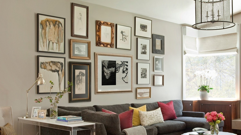 How To Build A Killer Gallery Wall Martha Stewart