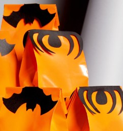 bat and spider treat bag toppers [ 1500 x 844 Pixel ]