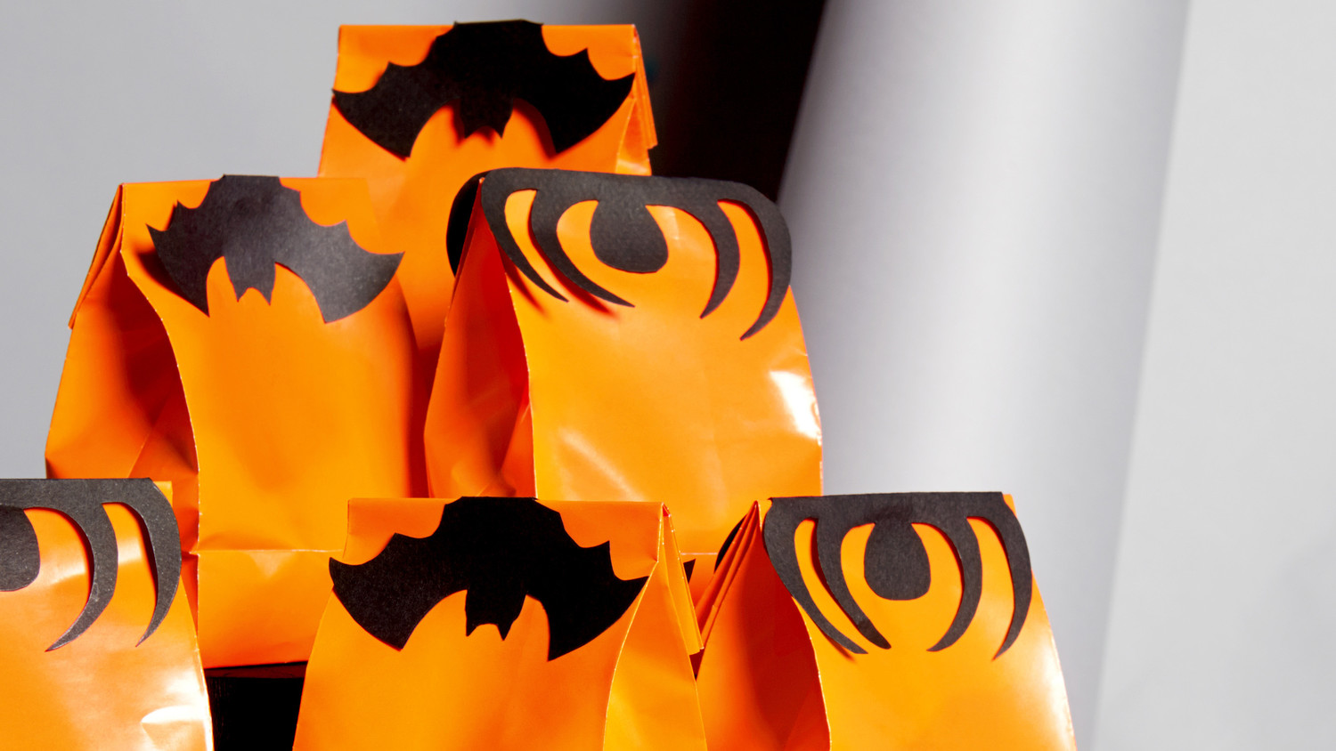 hight resolution of bat and spider treat bag toppers