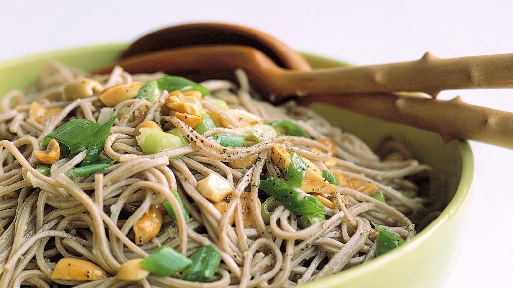 GingerPeanut Somen Noodles