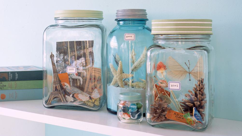 Vacation Memory Jars  Martha Stewart