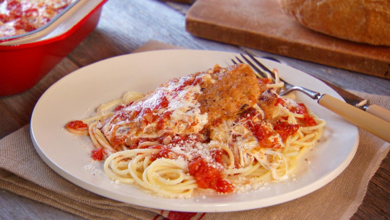 Chicken Parmesan Recipe  Video  Martha Stewart