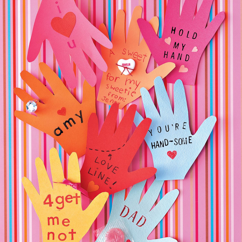 Crafty kids cool diy valentine   day cards to hand out at school also rh marthastewart