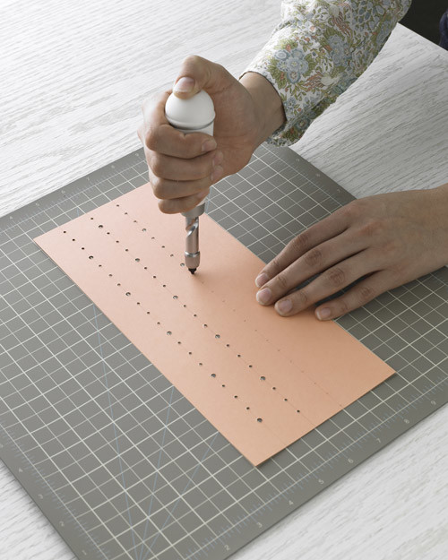 Using A Screw Punch Martha Stewart