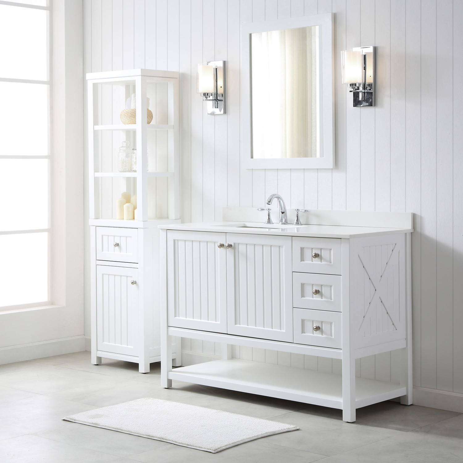 Video Martha Stewart Living Seal Harbor Bath Vanity