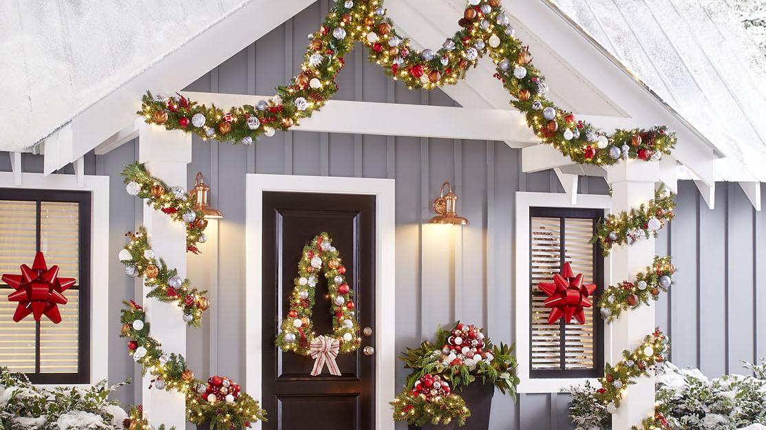 How To Make A Christmas Tree Wreath