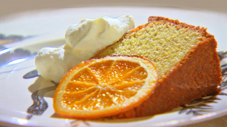 Semolina Cake Recipe  Video  Martha Stewart