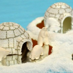 Make Kitchen Table Best Stoves Clay Polar Bears And Igloo & Video | Martha Stewart