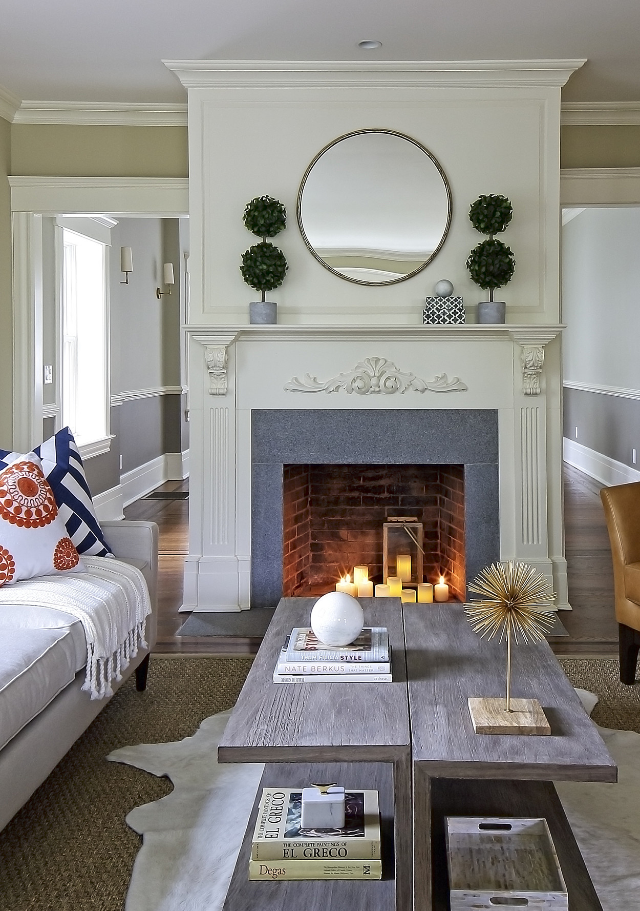 mixing furniture styles living room all white set design on a budget the art of high and low