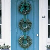 Blue Spruce Wreath Trio | Martha Stewart