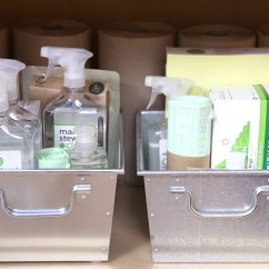 Under Kitchen Sink Organizer Moen Soap Dispenser Video Maximize Storage Martha Stewart
