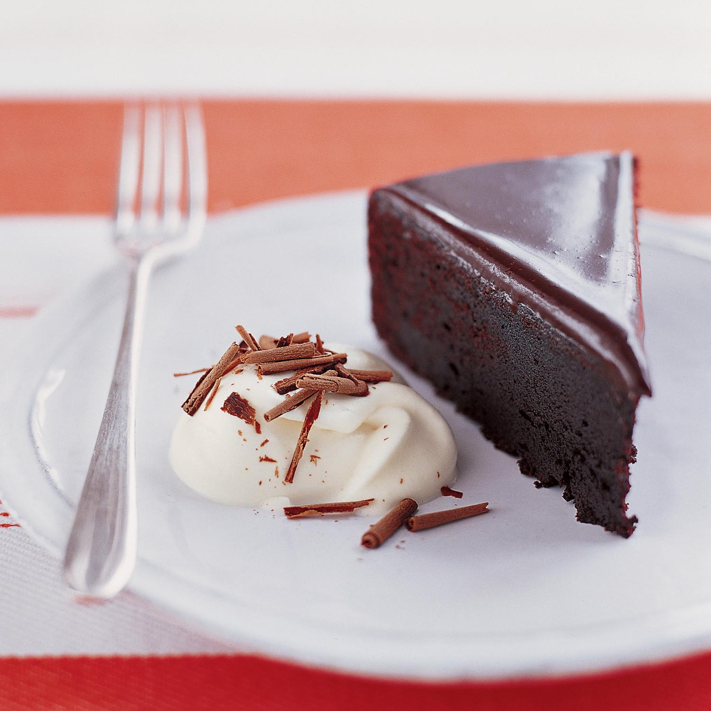 Fudgy Chocolate Glaze