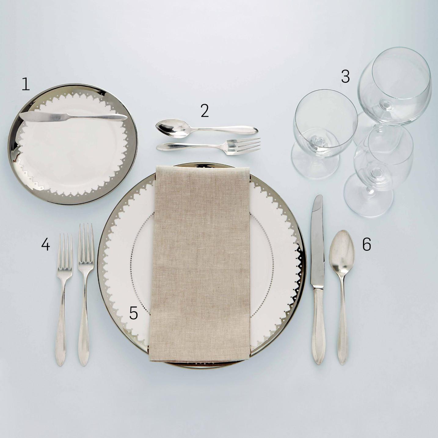 Formal Table Setting Martha Stewart