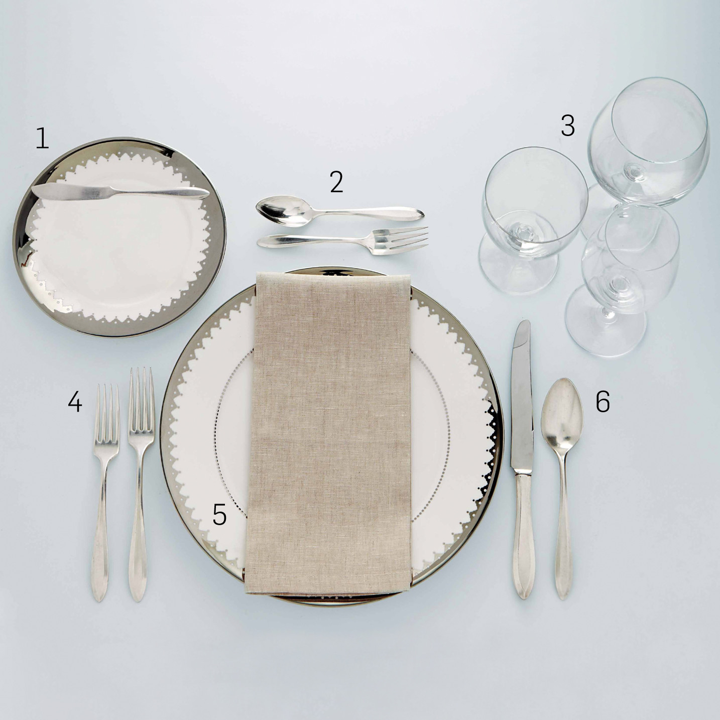 hight resolution of formal table setting