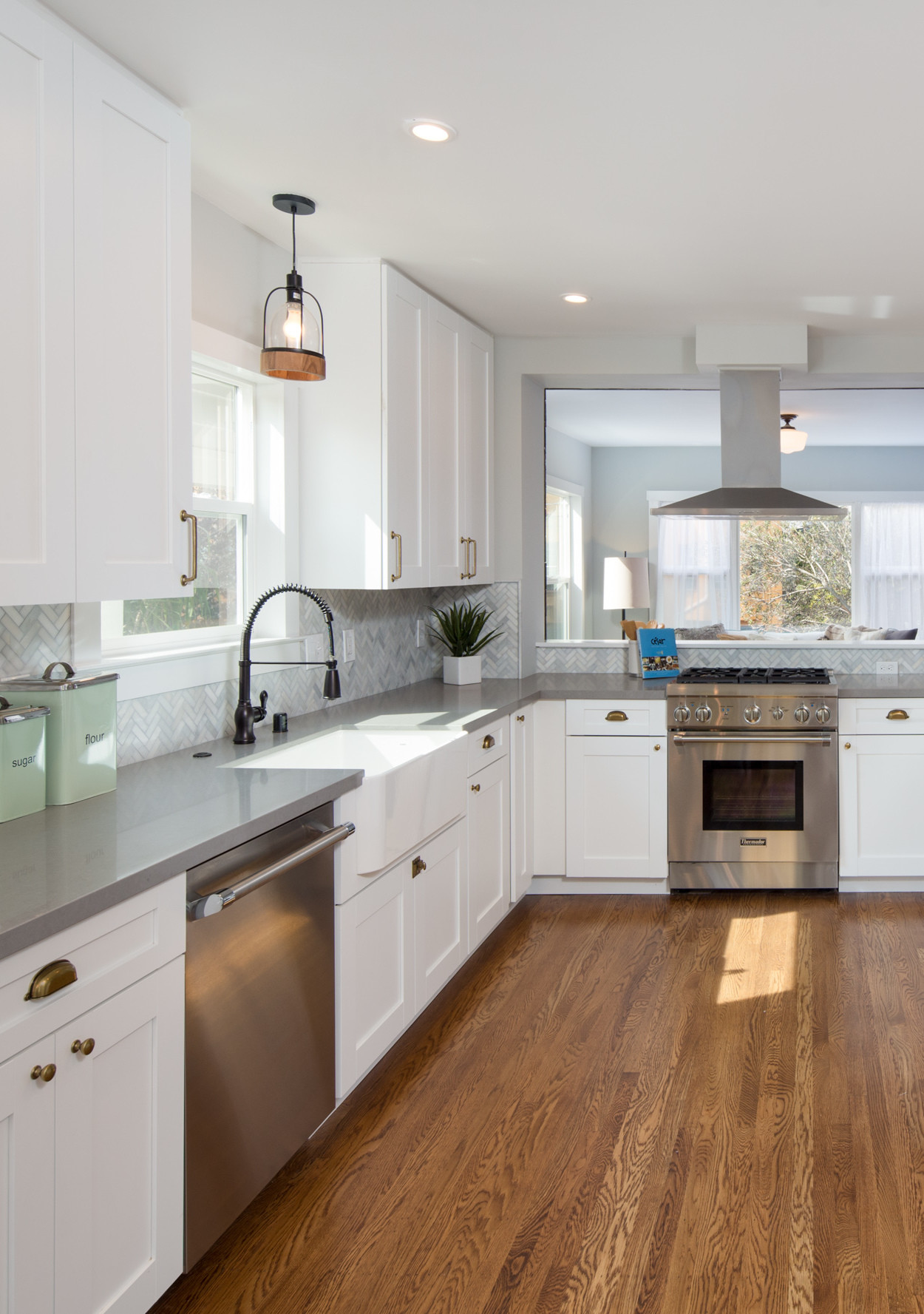 FarmhouseInspired White Kitchen Ideas  Martha Stewart