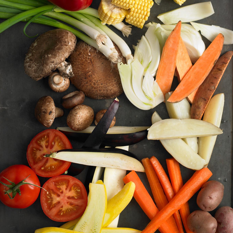 Food Storage Savvy Throw Veggies