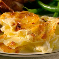 Diy Living Room Table Decor Small French Country Ideas Potatoes Dauphinoise Recipe | Martha Stewart