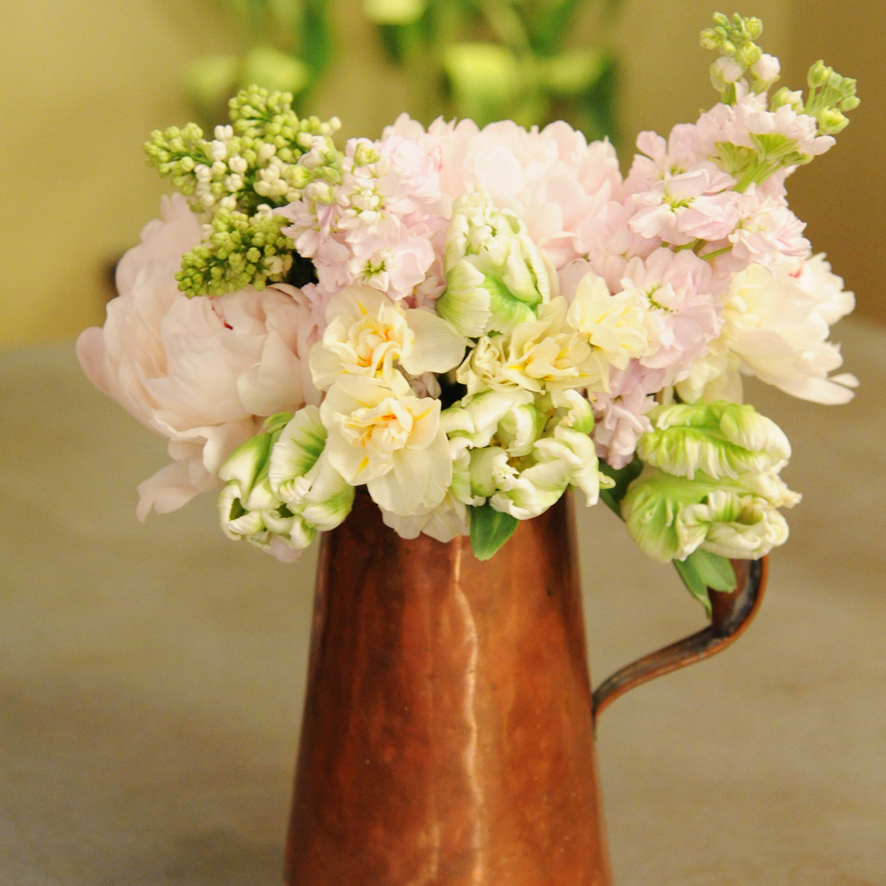 Rustic Watering Can Flower Arrangement  Video  Martha