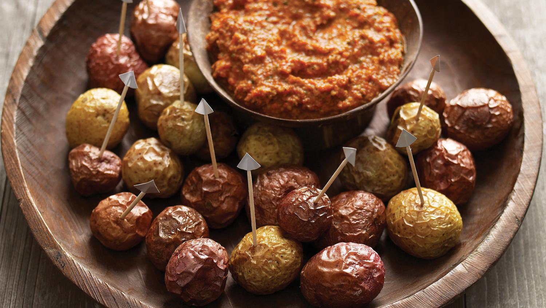 Shriveled Potatoes with Romesco Sauce Recipe  Martha Stewart