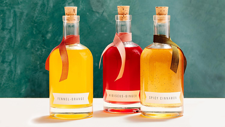 HibiscusGinger Syrup