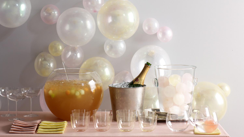 BubbleThemed Cocktail Party  Martha Stewart